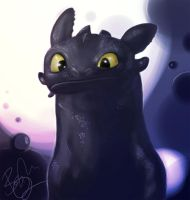 HTTYD - Toothless by ChainsOfFreedom