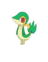 Snivy by 4themindandsoul