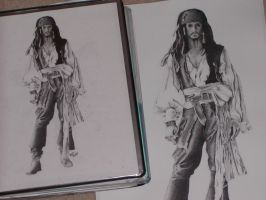 Captain Jack Sparrow by Contrapposto