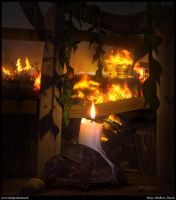Candle light by dart12001