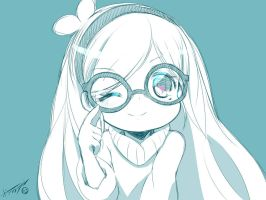 MEGANE NO MABLE-CHAN by B0RN-T0-DIE