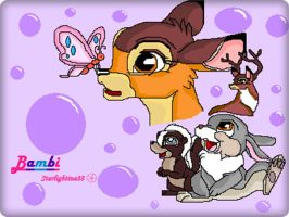 Bambi (Disney)_with *paint by Starlightina88
