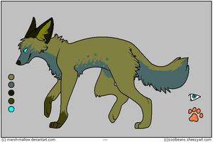 wolf adoptable - 10 by Adoptables-FalakWolf