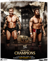 WWE Night Of Champions 2013 Poster by thetrans4med