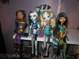 Monster High Collection Update 3 by Childofwestwind