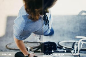 ColdPress Photoshop Actions Before and After by filtergrade