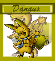 FGT: Danaus the bug skychu by Pikachim-Michi