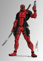 Deadpool by Ronniesolano