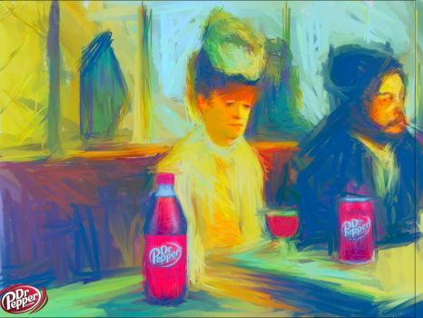 Dr. Pepper Cafe_after Degas. by isha-1