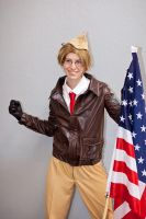 American strenght by Saria-Alkiniria