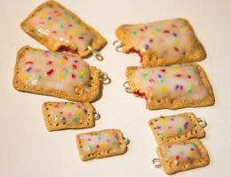 Polymer Clay Poptart Charms. by Darxen