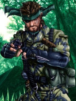 Still in a dream...Snake Eater by The-Switcher