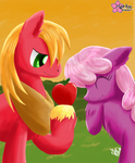 An Apple For The Teacher by CloudDG