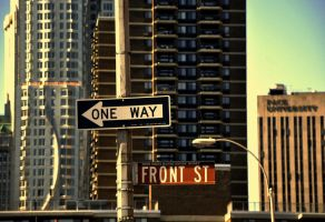 Oneway and Front St. by kal249