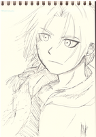 Edward Elric sketch by Hetare-muni