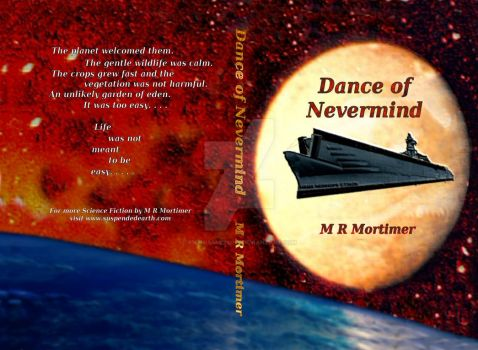 Novel cover - Dance of Nevermind by M R Mortimer by AnthiasMcLony