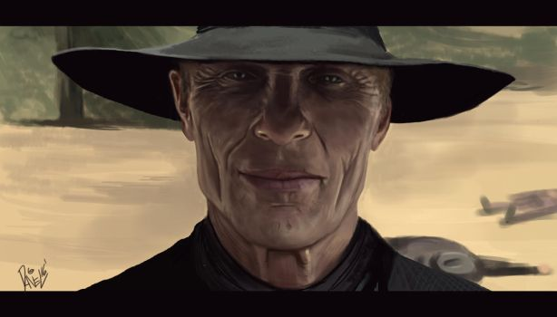 Ed Harris - Westworld by BudapestA