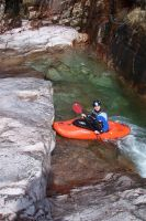 Kayaker 06 by Axy-stock