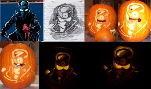 Repo Pumpkin:: Halloween '09 by HeavenSentTenshi