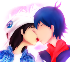 Love is sweeter than cherries by kazelee