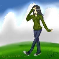 the grass is greener by huhsmile