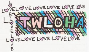 Colorful TWLOHA by azzie-art