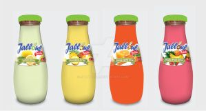 Jalloul - Fruit Drink label design by salwassim