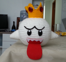 King Boo by MiaHandcrafter
