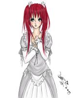red haired girl 2009 by Niz93