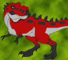 Fang the Tyrannosaurus Rex by DaBrandonSphere