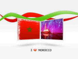 i love morocco by aziDesigne