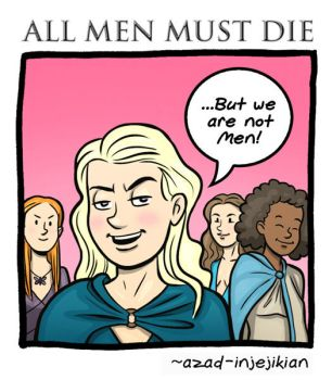 All Men Must Die 1 (of 6) - Game of Thrones by Azad-Injejikian
