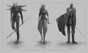 Character concept 01 by mrNepa