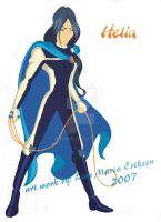 Helia Redfountain Specialist 2 by TheLupin