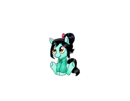 Vanellope Pony (WIP) by Spice5400