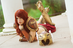 Valkyrie Leona Cosplay: First Light approaches by MomoeHamaguchi