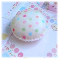 Polka Dot Pincushion by Keito-San