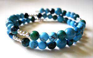 Turquoise Bracelet by LypticDesigns