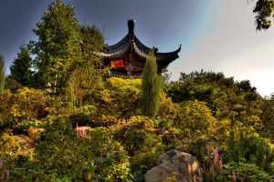 Chinese Garden by Linkineos