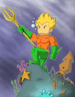 Aquaman Scribblenauts Unmasked Full Version by Cannibal-Cartoonist