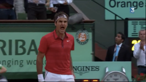 I'm here, I'm Federer by Bruce-Pictures