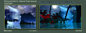 Haunted Viking Warship - Draw This Again by drumthrasher4hr