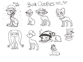 Bug Outfits by makashy