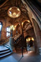 John Rylands Library Stairway by karla-chan