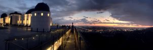 Griffith Park Observatory: iPhone Panorama by danlev