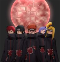 The Akatsuki by arbaros