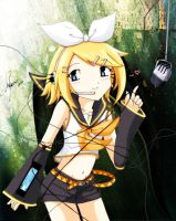 Rin Kagamine by angel-athena
