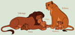 Lion King Family Adoptables 4 *CLOSED* by acornheart465