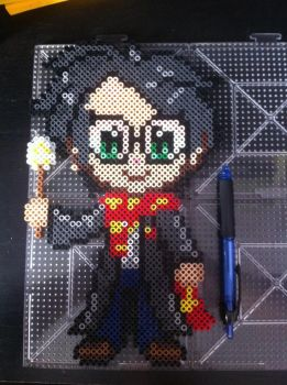 Harry Potter Perler by Shandab