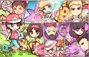 Let's Play!Kanto! by DarienDoodles
